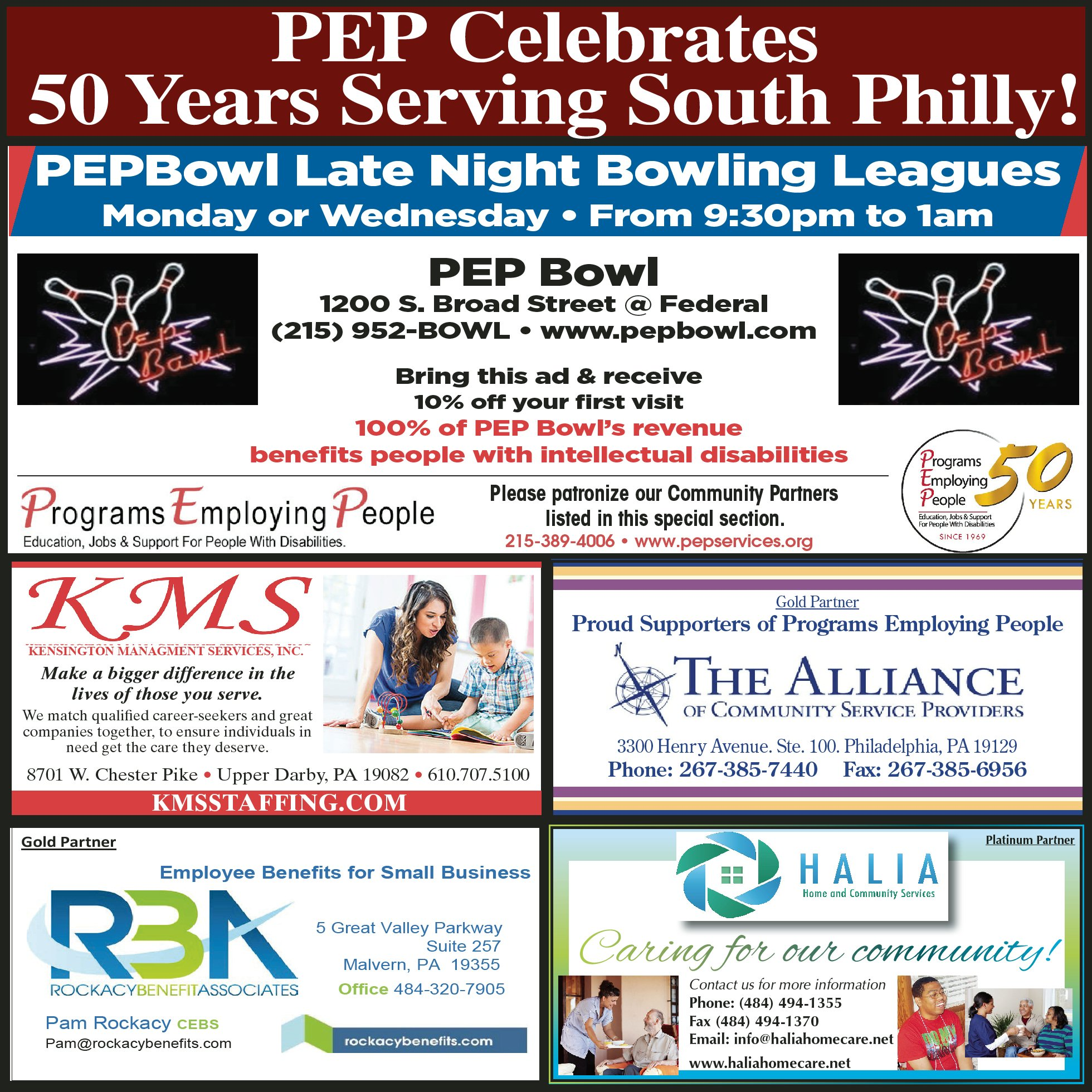 Charmant March 2019 Community Partners Ad South Philly Review (click To Enlarge)